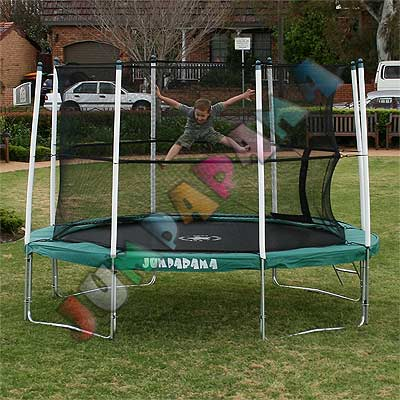 10FT Round Spring Trampoline with Net