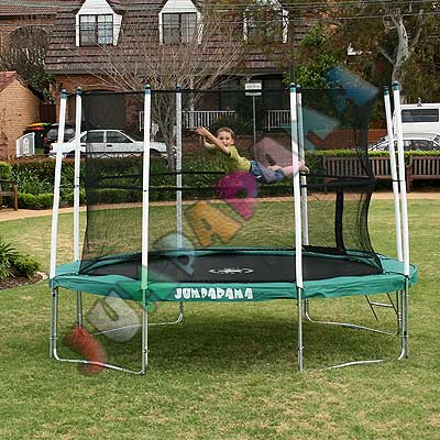 12FT Round Spring Trampoline with Net