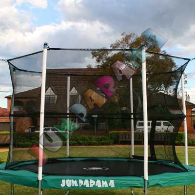 8FT Round Trampoline Net